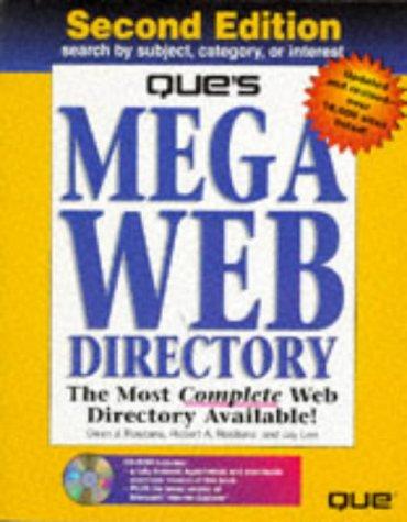 9780789709516: Que's Mega Web Directory