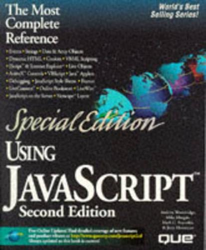 9780789711380: Using Javascript (Special Edition Using)