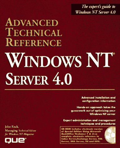 Windows Nt Server 4.0 Advanced Technical Reference: John Enck, Joe