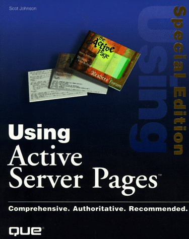9780789713896: Special Edition Using Active Server Pages