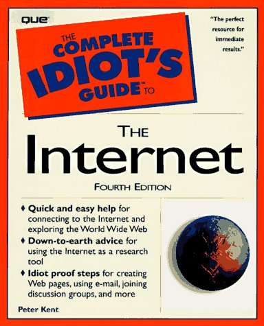 9780789714046: The Complete Idiot's Guide to the Internet (1997)