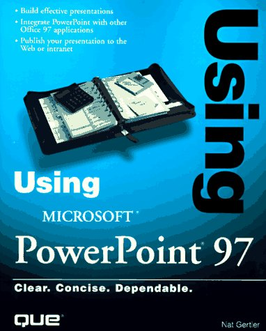 Using Microsoft Powerpoint 97: Gertler, Nat