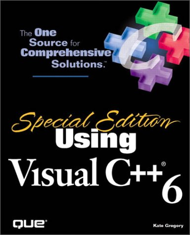 9780789715395: Special Edition Using Visual C++ 6