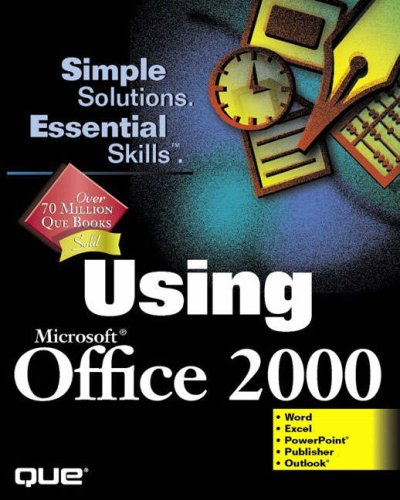 9780789718433: Using Microsoft Office 2000 (Using ... (Que))