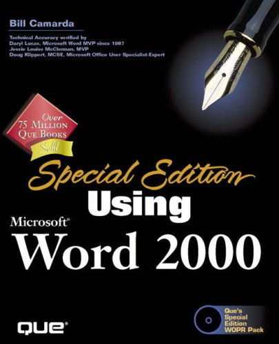 9780789718525: Special Edition Using Microsoft Word 2000