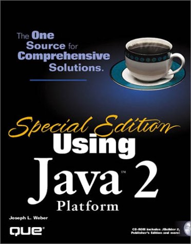 9780789720184: Using Java 2 Platform: Special Edition (Special Edition Using...)