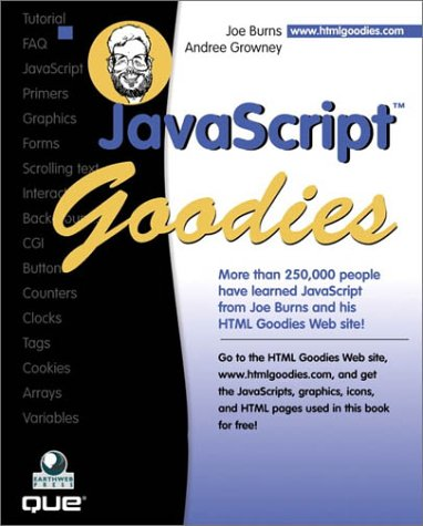 9780789720245: JavaScript Goodies