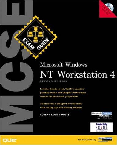 9780789722621: MSCE Windows NT Workstation Exam Guide