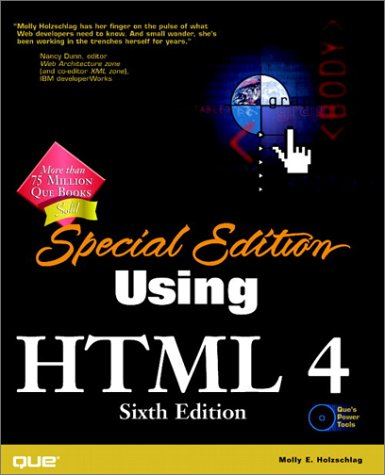 9780789722676: Special Edition Using HTML 4, Sixth Edition