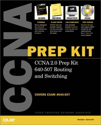 9780789722881: Ccna 2.0 Prep Kit 640-507 Routing and Switching: Covers Exam 640-507