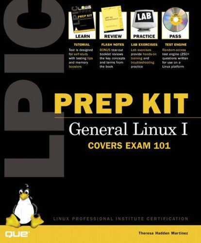 9780789722928: LPIC Prep Kit 101 General Linux I (Exam Guide)