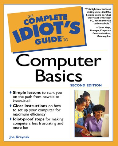 9780789722997: The Complete Idiot's Guide to Computer Basics