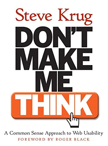 9780789723109: Don't Make Me Think! A Common Sense Approach to Web Usability