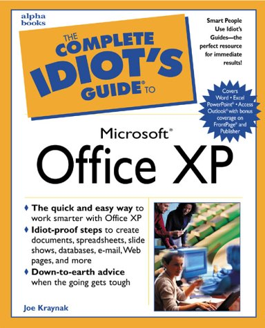 9780789725073: The Complete Idiot's Guide to Microsoft Office XP