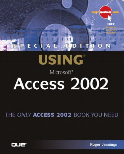 9780789725103: Special Edition Using Microsoft Access 2002