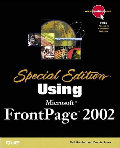 9780789725127: Special Edition Using Microsoft FrontPage 2002