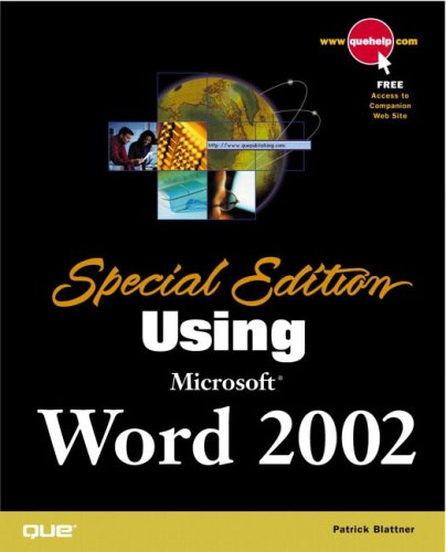 Special Edition Using Microsoft Word 2002: Camarda, Bill; Ray, William; Larson, Michael