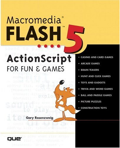 9780789725240: Macromedia Flash 5 ActionScript for Fun and Games
