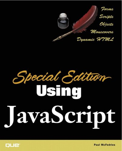 9780789725769: Special Edition Using JavaScript