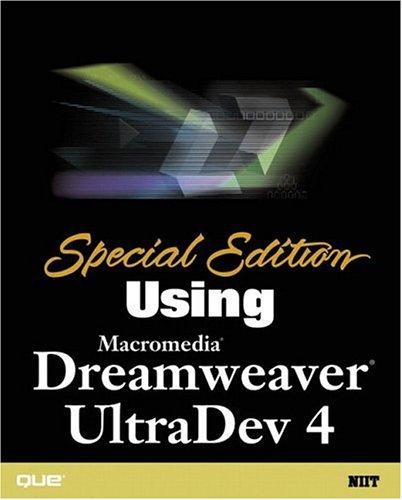 Using Macromedia Dreamweaver UltraDev 4