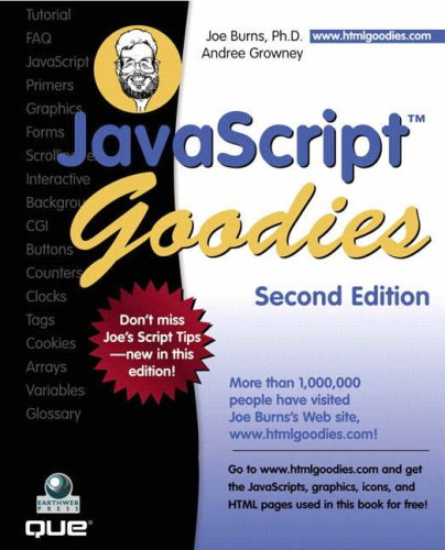 9780789726124: JavaScript Goodies