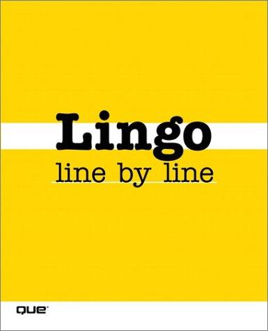 9780789727213: Lingo Line by Line