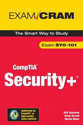 9780789729101: Security+ Certification Exam Cram 2 (Exam Cram SYO-101)