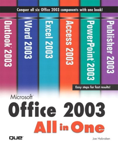 9780789729361: Microsoft Office 2003 All-In-One