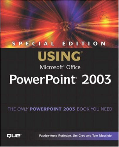 9780789729576: Special Edition Using Microsoft Office PowerPoint 2003