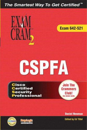 9780789730237: Ccsp Cspfa Exam Cram 2 (Exam Cram 642-521)