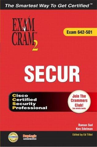 9780789730251: SECUR Exam Cram 2 (Exam Cram 642-501)