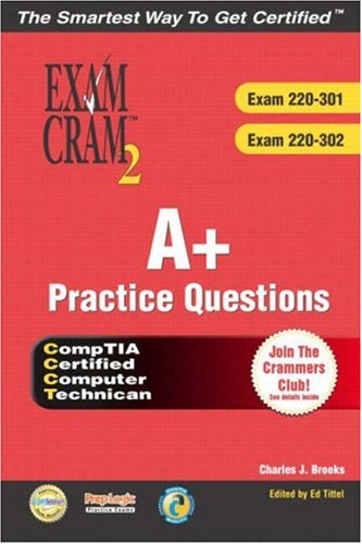 9780789731081: A+ Certification Practice Questions Exam Cram 2 (Exams: 220-301, 220-302)