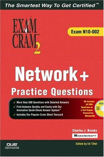 9780789731104: Network+ Certification Practice Questions Exam Cram 2 (Exam N10-002)
