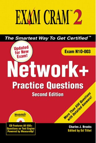 9780789733528: Network+ Certification Practice Questions Exam Cram 2 (Exam N10-003) (2nd Edition)