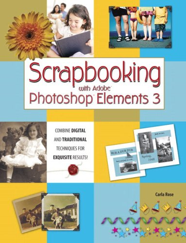 9780789734112: Scrapbooking with Adobe Photoshop Elements 3