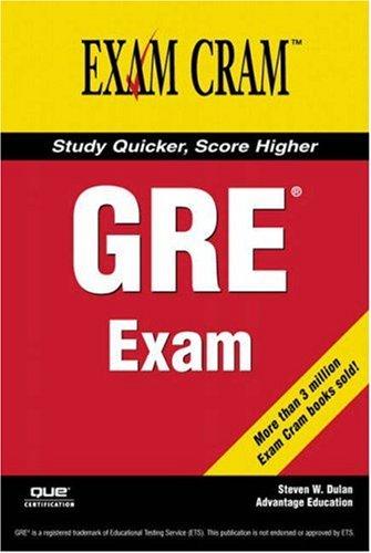 9780789734136: GRE Exam Cram