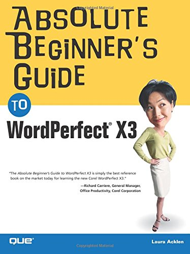 9780789734259: Absolute Beginner's Guide to WordPerfect X3
