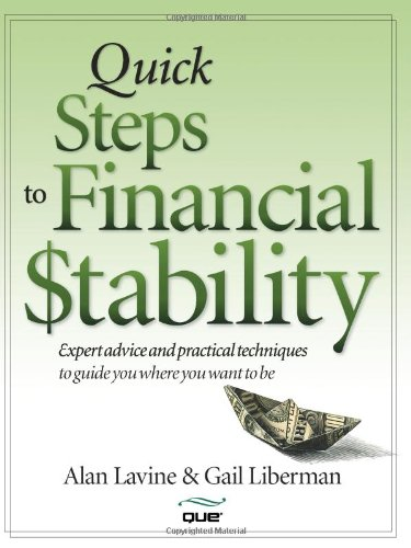 9780789735089: Quick Steps to Financial Stability