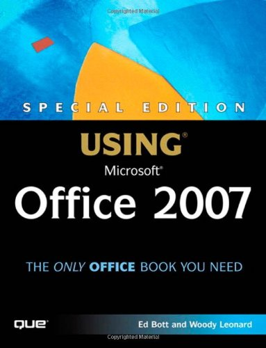 9780789735171: Special Edition Using Microsoft Office 2007