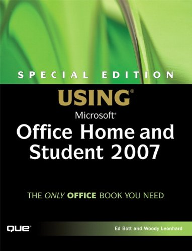9780789735188: Special Edition Using Microsoft Office Home and Student 2007