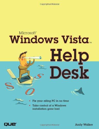9780789735874: Microsoft Windows Vista Help Desk