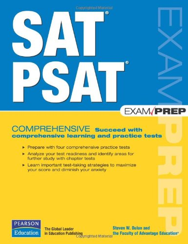 9780789736154: SAT/PSAT Exam Prep