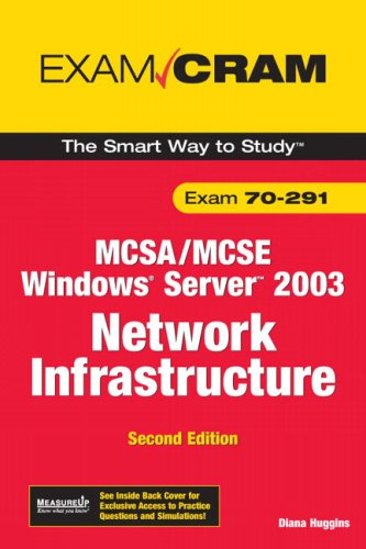 9780789736185: MCSA/MCSE 70-291 Exam Cram: Implementing, Managing, and Maintaining a Microsoft Windows Server 2003 Network Infrastructure (2nd Edition)