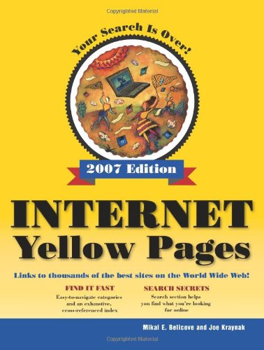 9780789736291: Internet Yellow Pages, 2007 Edition
