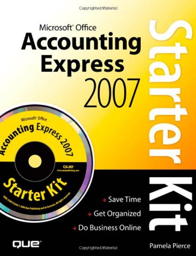 9780789736857: Microsoft Office Accounting Express 2007 Starter Kit
