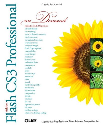 9780789736925: Adobe Flash CS3 Professional On Demand