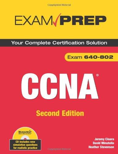 9780789737137: CCNA Exam Prep (Exam 640-802) (2nd Edition)