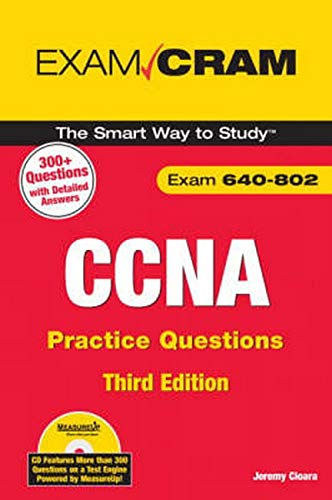 9780789737144: CCNA Practice Questions (Exam 640-802) (3rd Edition)