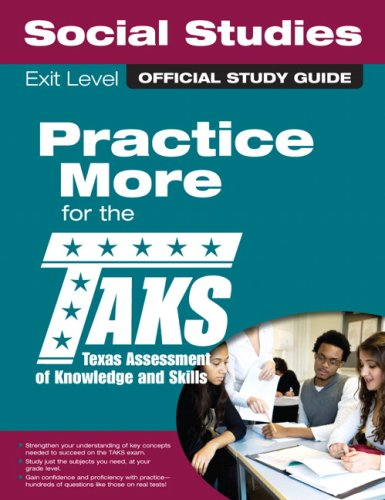 9780789737687: The Official TAKS Study Guide for Exit Level Social Studies