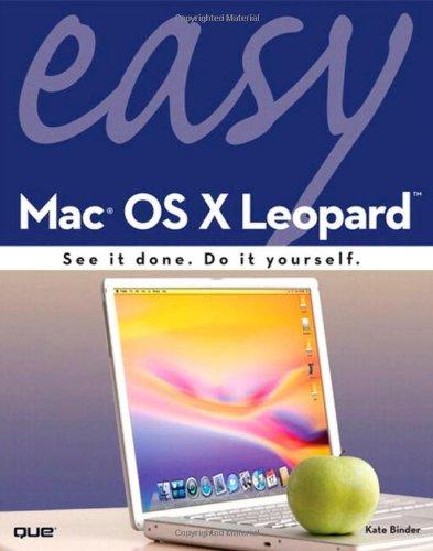 9780789737717: Easy Mac OS X Leopard